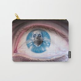 Death in the eyes Carry-All Pouch