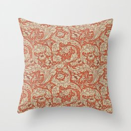 "William Morris ""Bachelors Button"" 1. Throw Pillow"