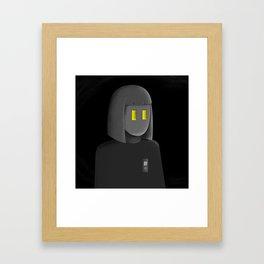 open heart Framed Art Print