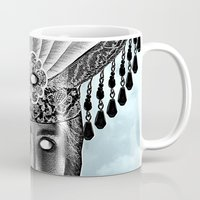grace Mugs featuring Grace by Thömas McMahon