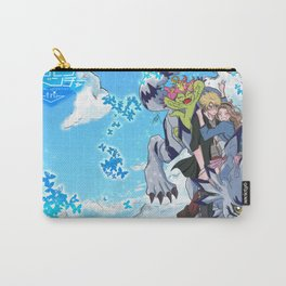 Digimon Tri Mimato Carry-All Pouch