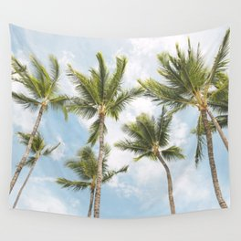 Palm Tree Print Wall Tapestry