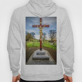 Jesus On The Cross Hoody