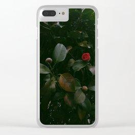 Crimson Clear iPhone Case