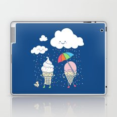 Cloudy With A Chance of Sprinkles Laptop & iPad Skin