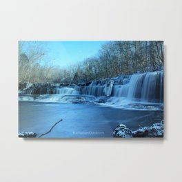 Blue Hole Falls Metal Print