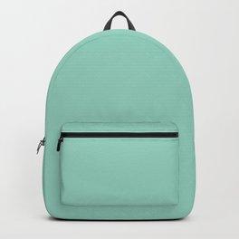 Monocolor Mint Green Backpack