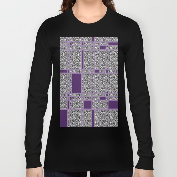 Plaid-ish Long Sleeve T-shirt