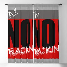 Say NO! to fracking Blackout Curtain