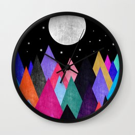 Moon Light XIX Wall Clock
