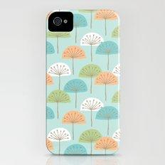 wispy flowers Slim Case iPhone (4, 4s)