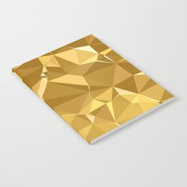 Gold Triangles Notebook