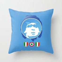 SSC Napoli Maradona Throw Pillow