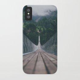Crossing bridges. iPhone Case