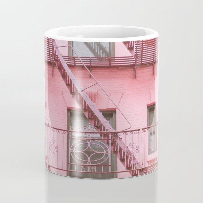 Pink Soho NYC Coffee Mug