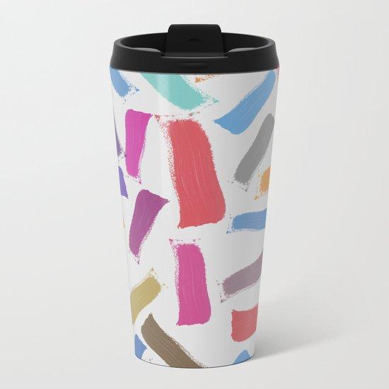 Lovely Pattern IV Metal Travel Mug