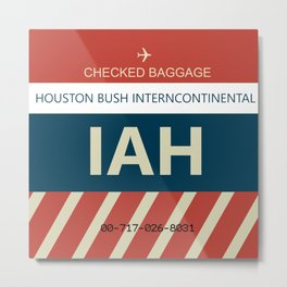 George Bush Intercontinental Airport Metal Print