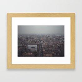 bologna hig Framed Art Print