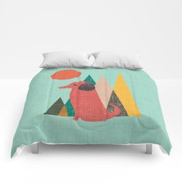 Waiting for You Dachshund Comforters