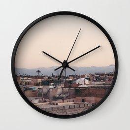 Marrakech Wall Clock