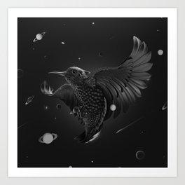 BlackBird Art Print