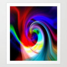 Euphoria Bliss Art Print