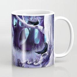 The Ostragon Woodlands Where Bright Ravens Watch Coffee Mug