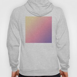 Pastel Yellow, Pink, Purple Gradient Ombre Abstract Hoody