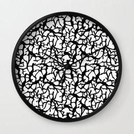 Migration  Black & White Wall Clock