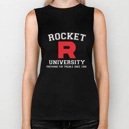 Rocket University Biker Tank