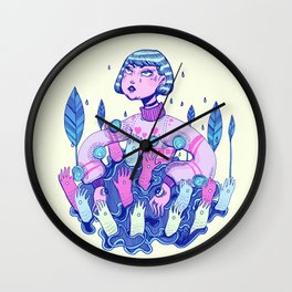 Touch rules Wall Clock