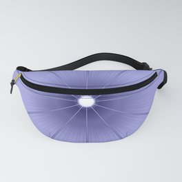 Periwinkle Flower Fanny Pack
