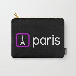 Eiffel Tower, Paris (Purple) Carry-All Pouch