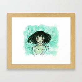 Your name is Kohaku Framed Art Print