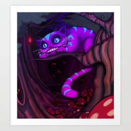 The Cheshire Cat Art Print