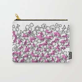 Oddgon and Angular Cluster in Pink Carry-All Pouch