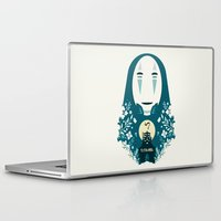 spirited away Laptop & iPad Skins featuring spirited away by StraySheep