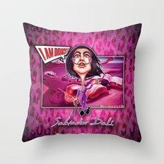 Salvador Dali! Throw Pillow