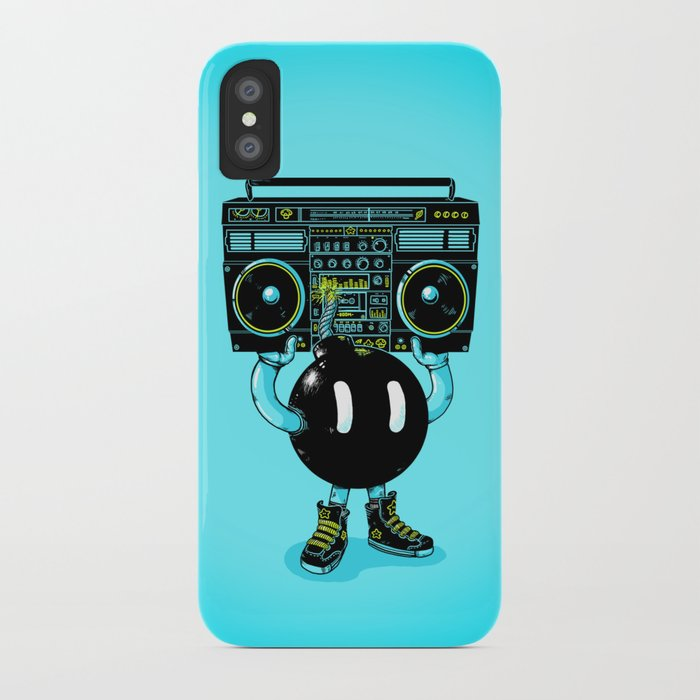 BOOMBOX iPhone Case