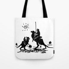 Han Quixote Tote Bag