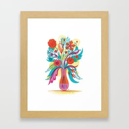 G.D.Flowers: Some More Flowers, Geez! Framed Art Print