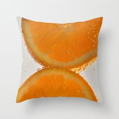 Orange you glad you stopped by? Throw Pillow