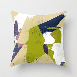 Sunday Winter Time vol.3 - Abstract Throw Pillow / Wall Art / Home Decor Throw Pillow