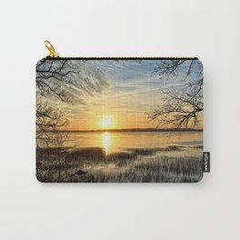 Clear Lake Sunrise Carry-All Pouch