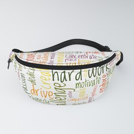 Motivational Words Fanny Pack