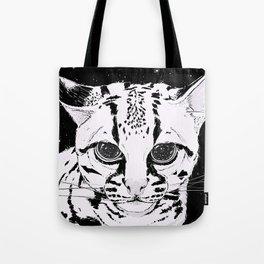 Leopardus Pardalis Tote Bag
