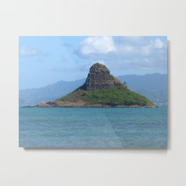 Chinaman's Hat - Oahu Metal Print