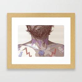 TATTOO Framed Art Print