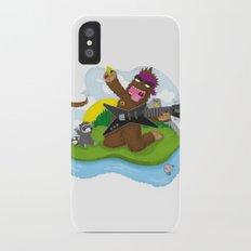 Bigfoot Rocks! Slim Case iPhone X