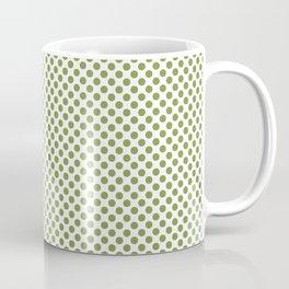 Peridot Polka Dots Coffee Mug